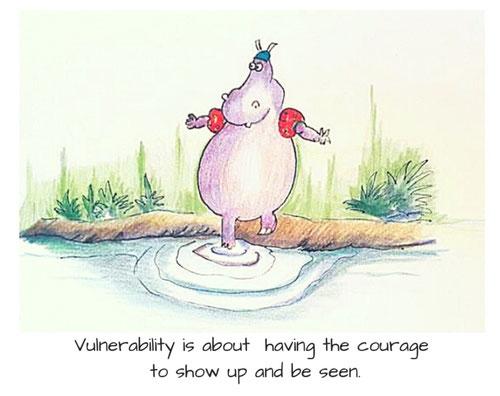 groeien in zelfvertrouwen door kwetsbaar te zijn